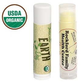 Custom Label USDA Organic Lip Balm